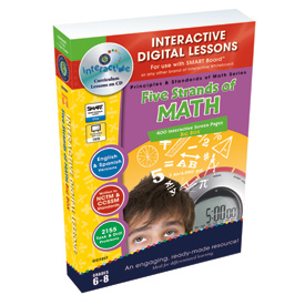 Five Strands of Math: IWB Digital Lesson Plans: Gr. 6-8