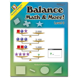 Balance Math™ & More! Level 3