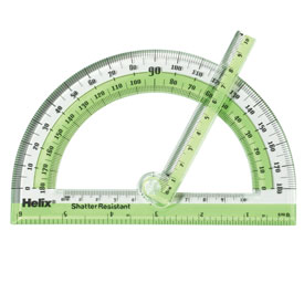 Swing Arm Protractor - 180 Degrees