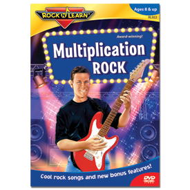 Rock 'N Learn® DVD: Multiplication Rock