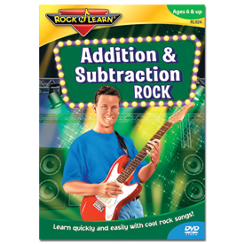 Rock 'N Learn® DVD: Addition & Subtraction Rock