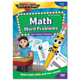 Rock 'N Learn® DVD: Math Word Problems