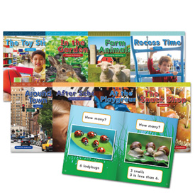 Mathematics Readers for Kindergarten Set 2