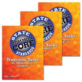 Transition Tasks for Mathematics, State Common Core Standards Series