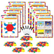 Hands-On Math Centers: Pattern Blocks - Grade 1