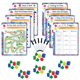 Hands-On Math Centers: GeoModel® Solids - Grade 1