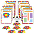 Hands-On Math Centers: Pattern Blocks - Grade 3