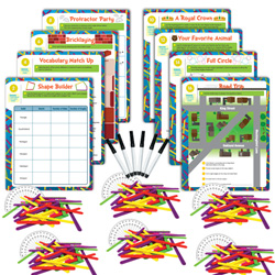 Hands-On Math Centers: Exploragons® - Grade 4