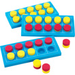 QuietShape® Ten Frame Board Classroom Set