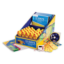 10 Days to Multiplication Mastery Class Kit of 25