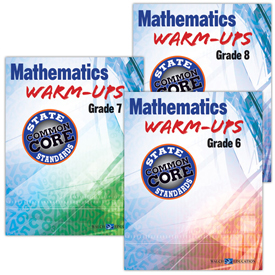 Mathematics Warm-Ups for CCSS Series