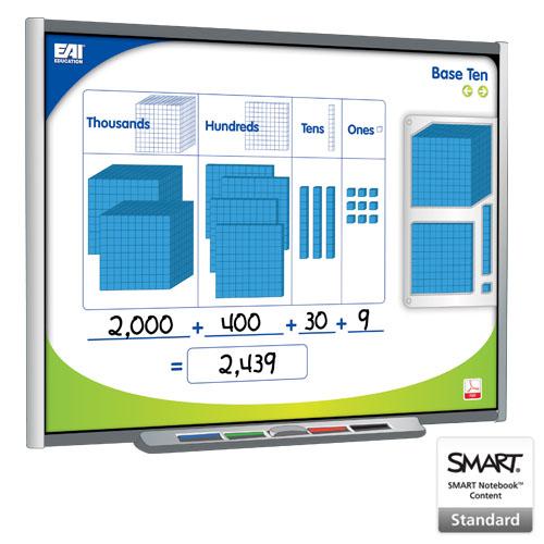 EAI® Virtual Base Ten Blocks for the SMART Board® - Common Core ...