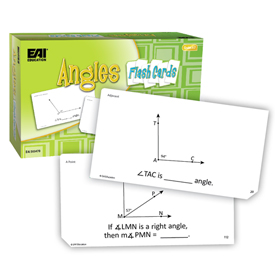 Angle Flash Cards: Grades 4-7