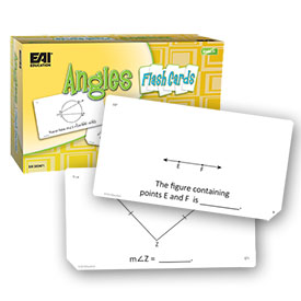 Angle Flash Cards: Grade 7+