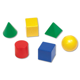 Hands-On Math Centers: GeoModel® Solids Student Set of 6