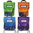 NeatSeat™ Classroom Chair Organizer: Set of 4 - Assorted Colors