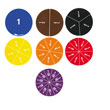 Hands-On Math Centers: Fraction Circles Student Set of 34 - Grade 3