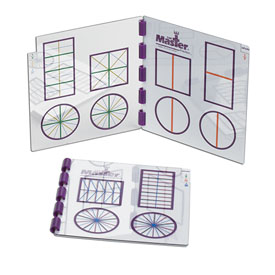 The Master® Fraction: Teacher Set of 3