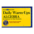 Daily Warm-Ups: Algebra for Common Core State Standards