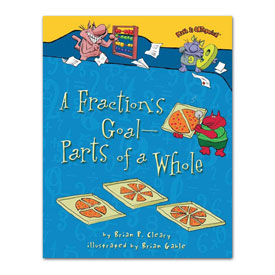 Math is CATegorical® A Fraction's Goal- Parts of a Whole - Softcover