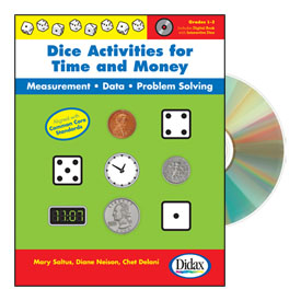 Dice Activities for Time and Money