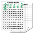 Double-Sided Flexible Dry-Erase 120 Number Boards - Set of 10