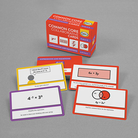 Common Core Collaborative Cards - Equations and Expressions