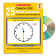 25 Common Core Math Lessons for the Interactive Whiteboard Gr. 1