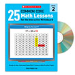 25 Common Core Math Lessons for the Interactive Whiteboard Gr. 2
