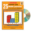 25 Common Core Math Lessons for the Interactive Whiteboard Gr. 5