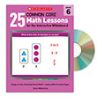 25 Common Core Math Lessons for the Interactive Whiteboard Gr. 6