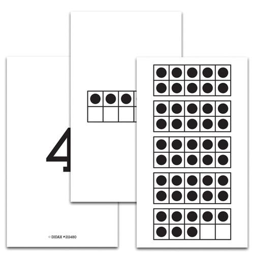 Ten-Frames 1-50 Cards - Place Value | EAI Education