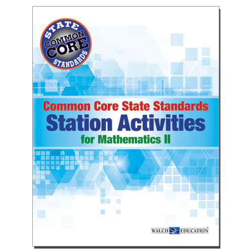 Common core state standards station activities for mathematics ii common core state standards station activities for mathematics ii fandeluxe Image collections