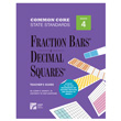 Fraction Bars® Common Core State Standards Teacher's Guide - Grade 4