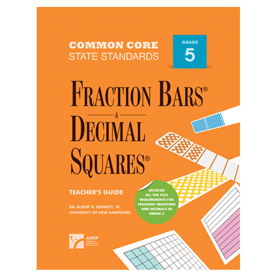 Fraction Bars® Common Core State Standards Teacher's Guide - Grade 5