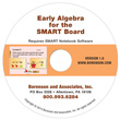 Early Algebra for the SMART Board:  Expressions & Equality-Ten User License