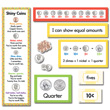 Counting U.S. Coins Mini Bulletin Board Set