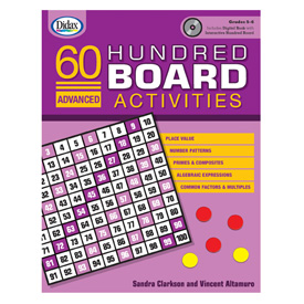 60 Advanced Hundred Board Activities