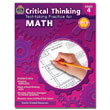 Critical Thinking: Test-taking Practice for Math - Grade 4