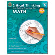 Critical Thinking: Test-taking Practice for Math - Grade 5