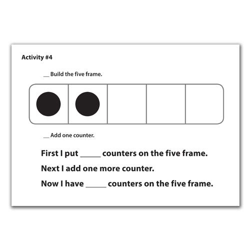 Five & Ten Frames Activity Cards - Place Value | EAI Education