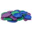 Hands-On Math Centers: Jumbo Button Counters Student Set