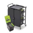 Tech Tub™ Cart with 4 Premium Tech Tubs™: Holds Up To 40 Tablets