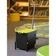 Tech Tub™ Trolley with 1 Premium Tech Tub™: Holds 6 Tablets