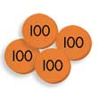 Sensational Math™ Place Value Discs - Hundreds: Set of 100