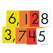 Sensational Math™ Place Value Cards - 4-Value Whole Numbers