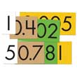 Sensational Math™ Place Value Cards Set - 4-Value Decimals to Whole Number Place Value Cards