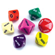 Place Value Dice - Set of 7