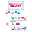 Plane & Solid Shapes Mini Bulletin Board