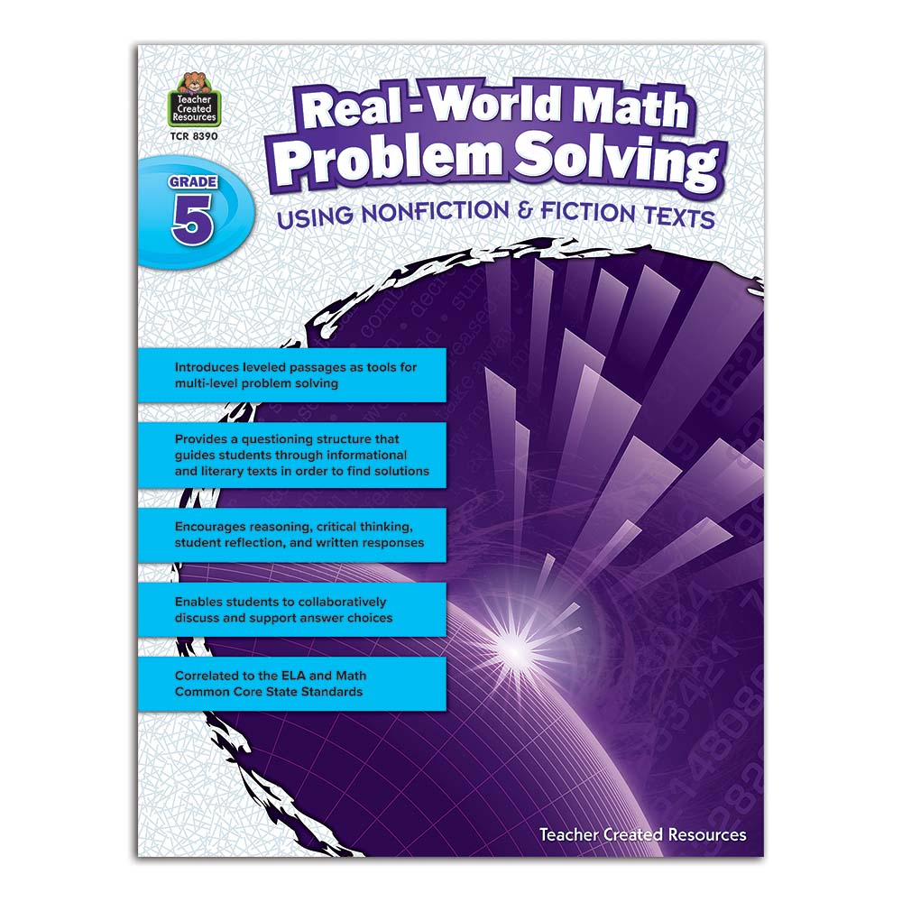 Real-World Math Problem Solving Using Nonfiction & Fiction Texts ...